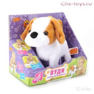 Интерактивный щенок My Friends - Вуди (ходит, поет), 17 см