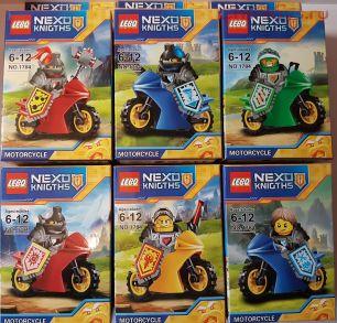 Набор из 6 конструкторов LEBQ Nexo Knights 1784 (аналог Lego Nexo Knights)