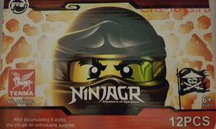 Набор из 6 конструкторов TENMA Ninja TM6002 (аналог Lego Ninjago)