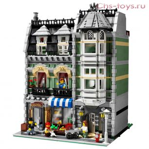 """Конструктор LELE CREATOR """"Зеленая бакалейная лавка"""" 30005 (Реплика LEGO CREATOR 10185 """"Green Grocer"""") 2352 дет."""