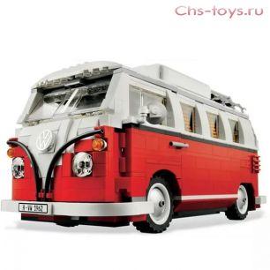 """Конструктор Bela Create """"Volkswagen T1"""" 10569 (Реплика Lego Creator Фольксваген Т1 10220) 1342 дет."""
