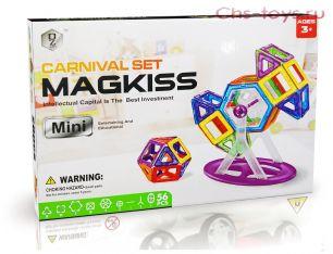 Магнитный конструктор CARNIVAL SET Magkiss Mini 56 деталей