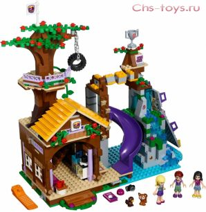 Конструктор SLtoys Friends Спортивный лагерь Дом на дереве SY832 (Аналог LEGO Frends 41122) 754 дет.
