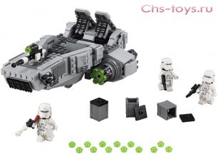 Конструктор BELA Space Wars Снежный спидер Первого Ордена 10576 (Аналог LEGO Star Wars 75100) 463 дет.