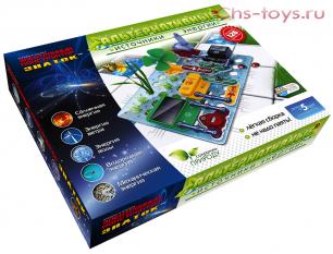 Электронный конструктор Знаток - Альтернативные источники энергии (126 схем)