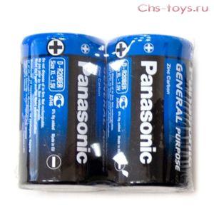 Panasonic R20 BER/2P Gen.Purpose за 2 шт на блистере