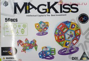 Магнитный конструктор Magkiss 56 деталей
