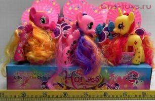 Маленькие пони в упаковке