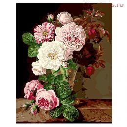 Картина по номерам Натюрморт из цветов 8006