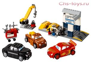 Конструктор Bela Young Kids Гараж Смоуки 10686 (Аналог Lego Juniors 10743) 126 дет.