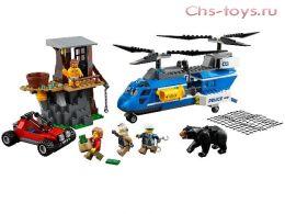 Конструктор LEPIN Cities Погоня в горах 02089 (Аналог LEGO City 60173) 339 дет